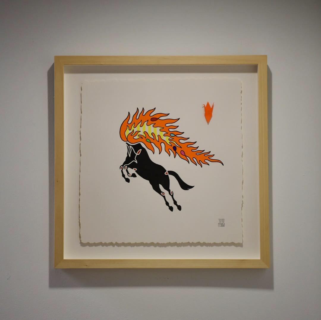 """Mula Sem Cabeça"" (Headless Mule) , 2019  BUY NOW"