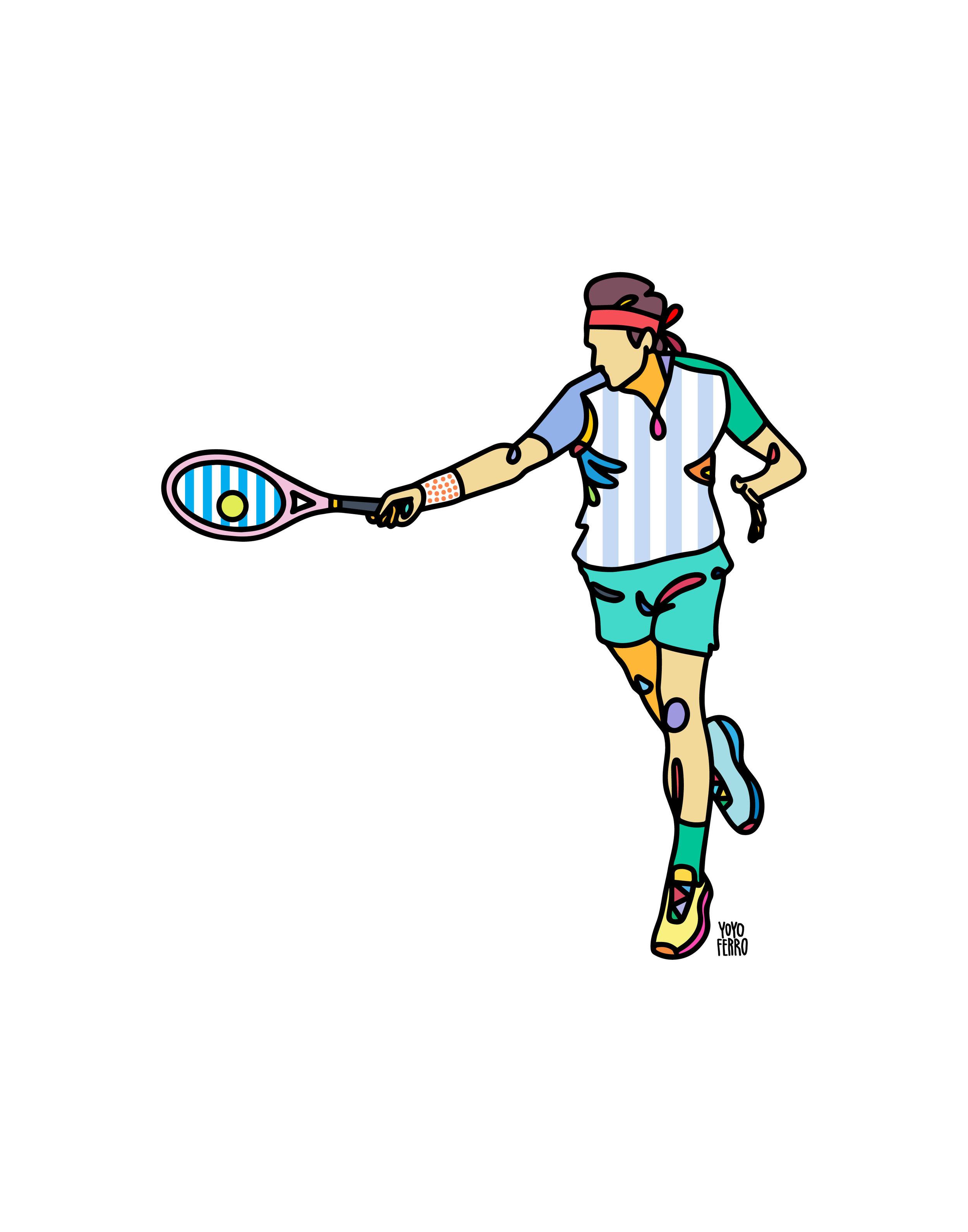 """Roger Federer"" , 2019"