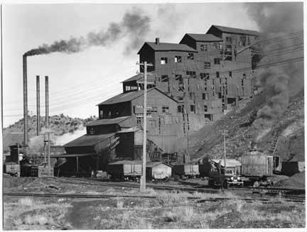 Madrid coal plant about 1935