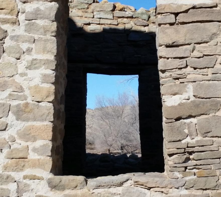 Window. Aztec Ruins, Aztec NM