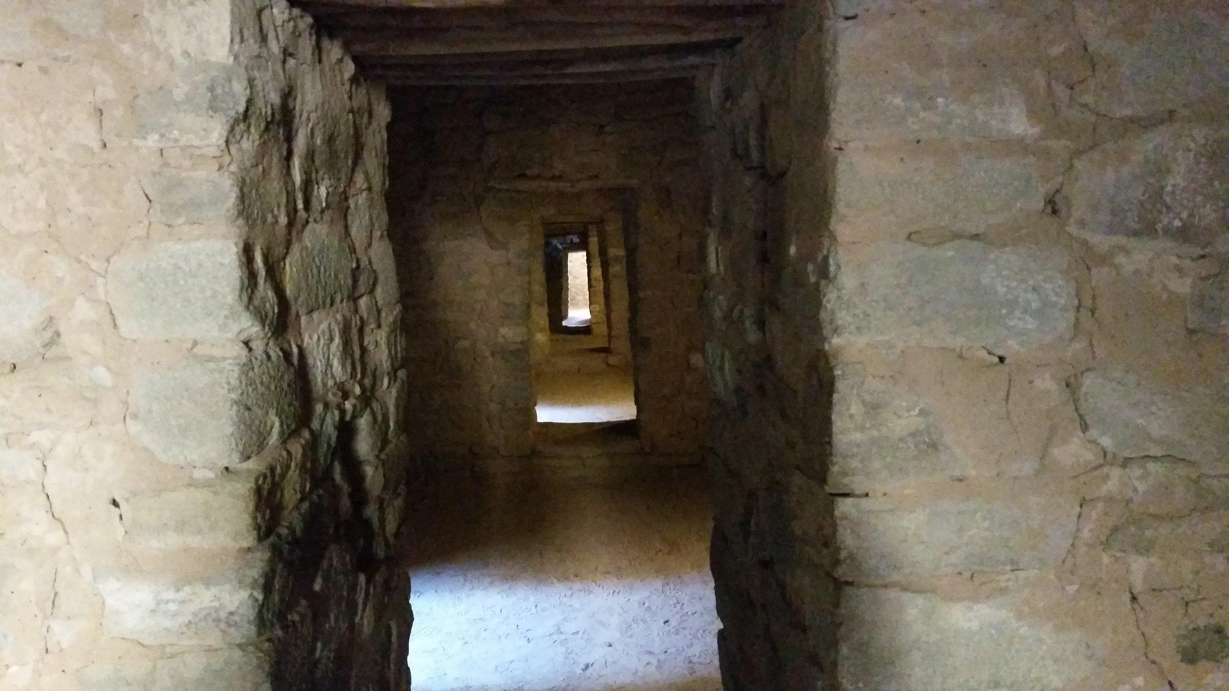 Doorways. Aztec Ruins, Aztec NM
