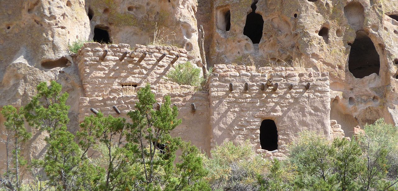 Cliff Dwellings. Bandelier National Mounument NM