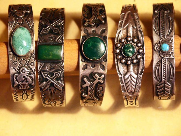 Fred Harvey souvenir bracelets