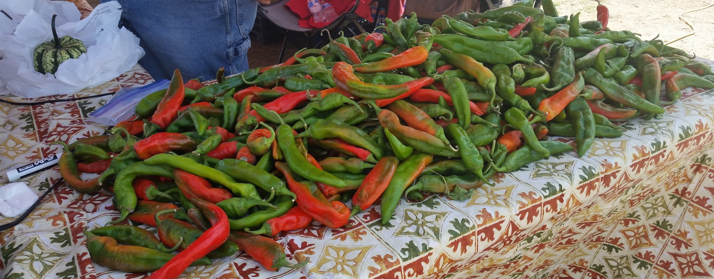 Fresh New Mexico chiles