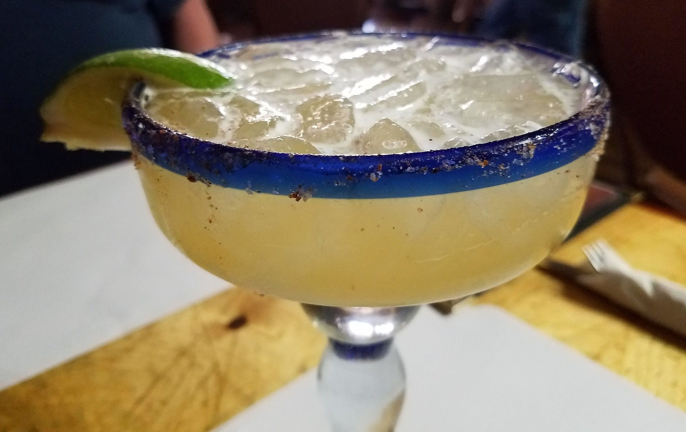 A classic margarita at Los Ojos Restaurant and Saloon in Jemez Springs