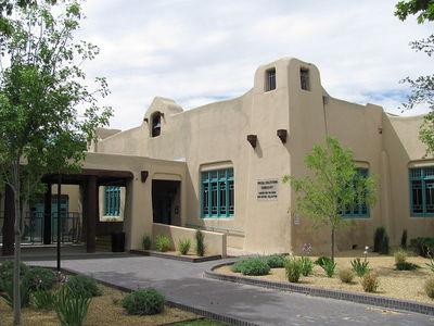 Pueblo Style Albuquerque Library