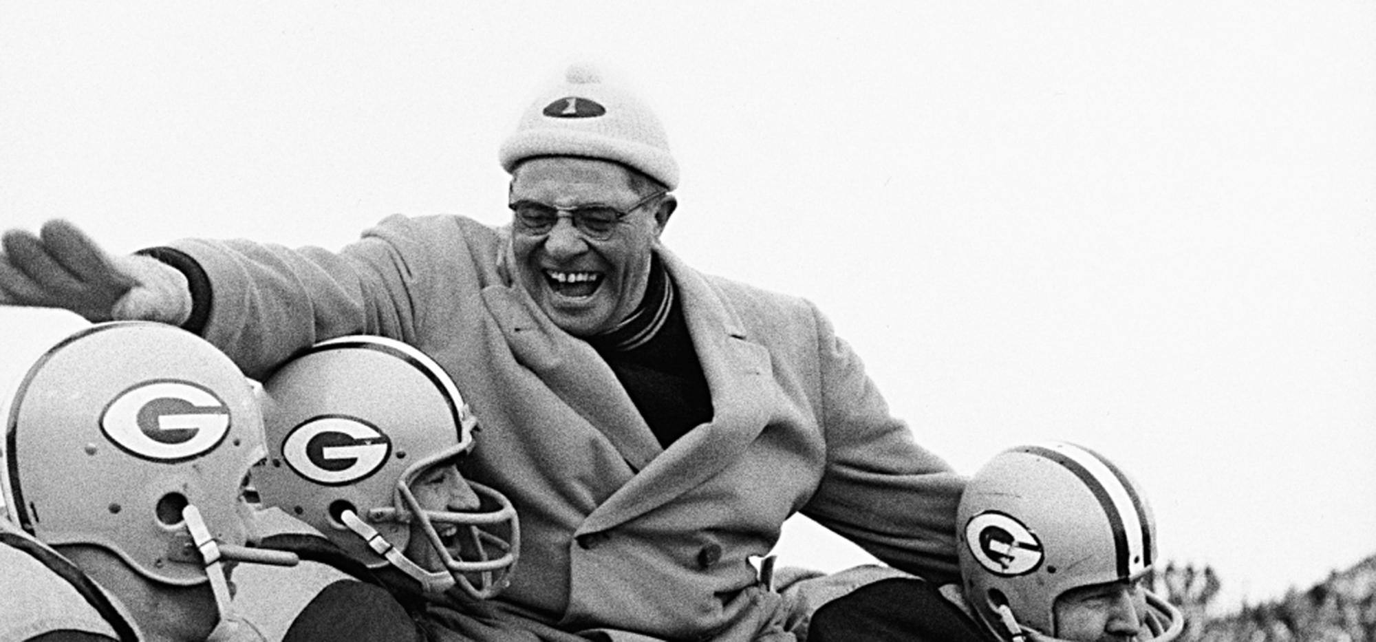 Vince Lombardi. Entrenador de fútbol americano
