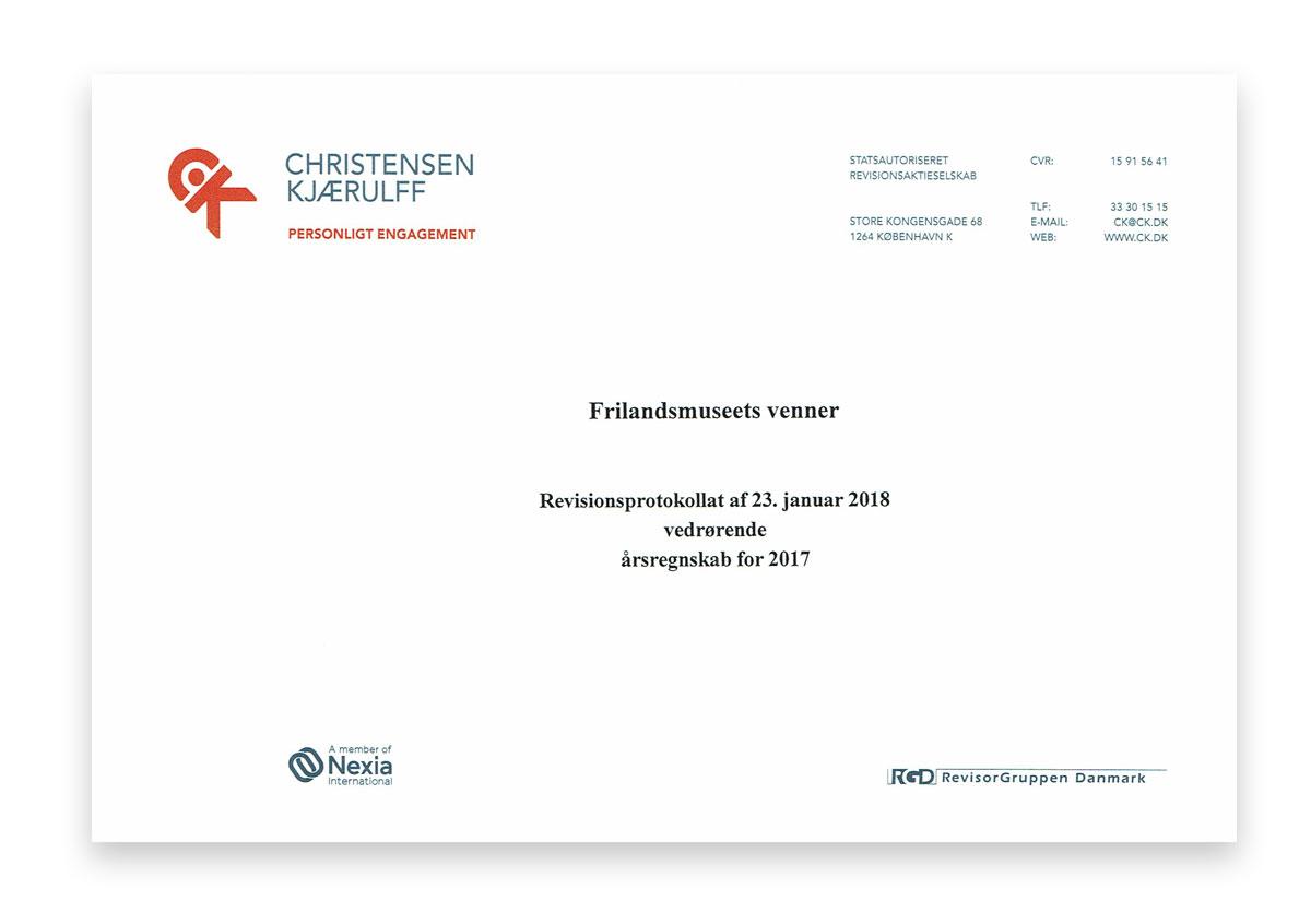 Revisionsprotokollat 2017 - Klik her for at læse mere