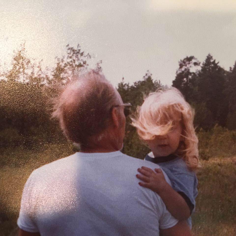 Pictured: Sara and her father, the man who inspired it all.
