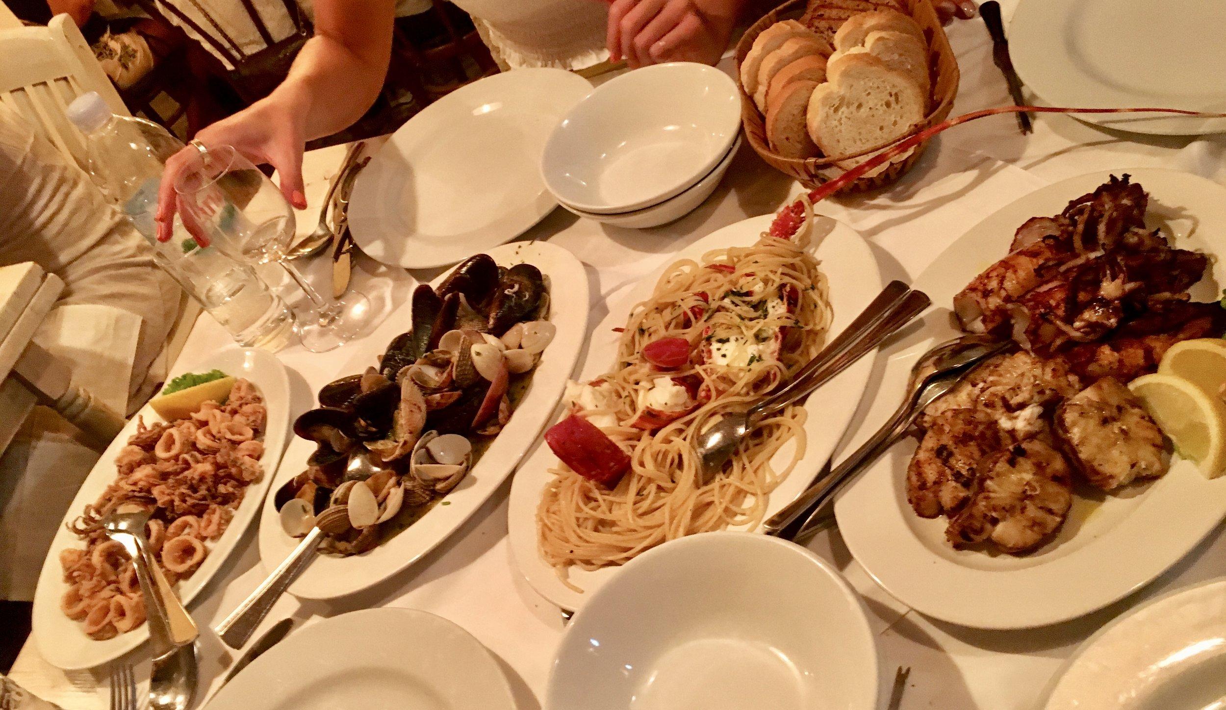Croatian food at its finest!