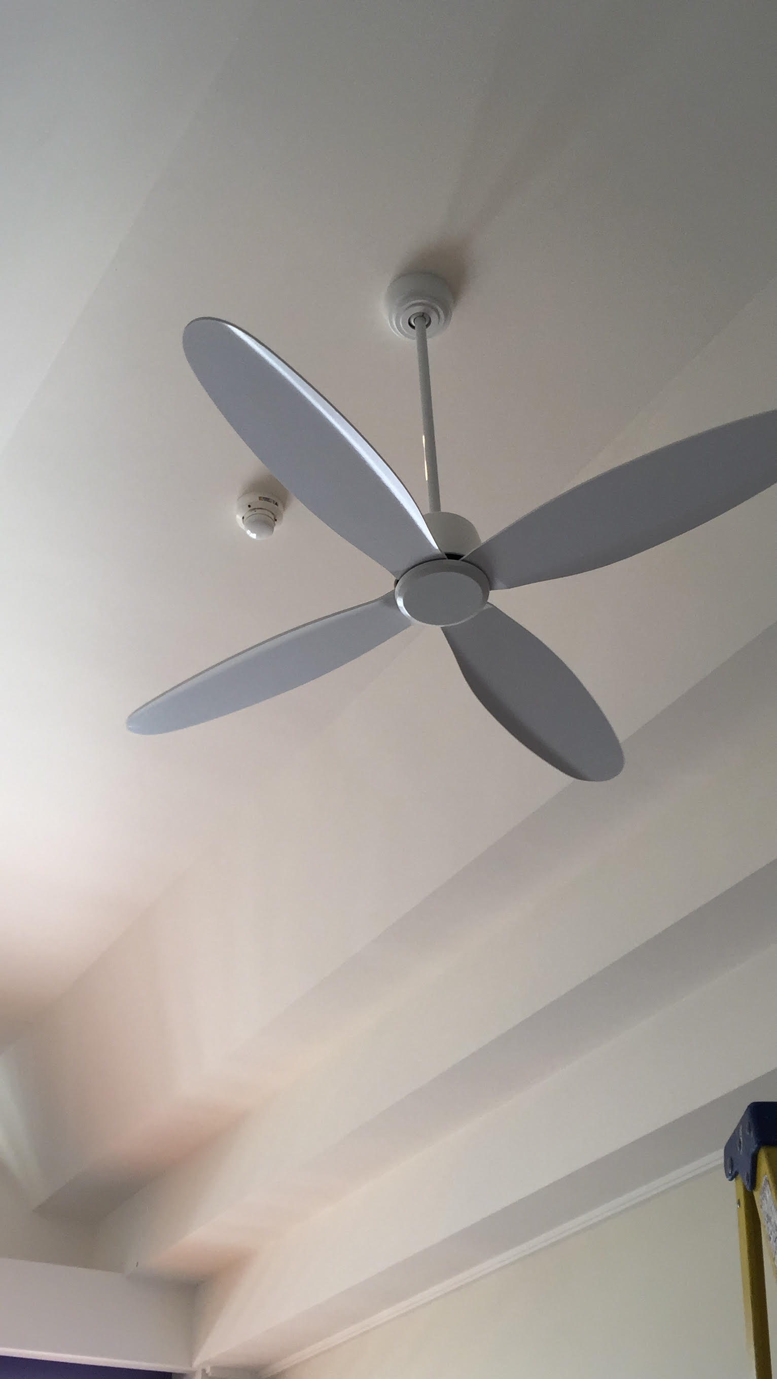 - Easy to maintainYou hardly require bearing any huge maintenance cost in ceiling fans. You can wipe out the loose dust on the fans by using a piece of dry cloth.It is not always easy to find a quality ceiling fan installer, and there is no doubt about the fact that the major amount of problems with ceiling fans start because of poor quality installations. The best part of choosing us over others is our team comprises of the most experienced installers in the market who will make sure you will not face any problem in the post-installation process.We can advise you on the right ceiling fan for your rooms based on your budget, room size and ceiling heights while we excel in ceiling fan installations in Gold Coast. Our team has skilled electricians who will incorporate remote access facility to your ceiling fans so that you can operate it without getting up from the bed. The remote access further lets you control the speed of the fan with the press of a button.Choosing the correct fan sizeRoom size of 4x5 meters or smaller requires a blade length of 122cm.Room size of 6x6 meters or larger requires a blade length of 132cm.Energy usageCeilings fans are extremely efficient to function, and these typically use about the same energy as a 60w light bulb, they cost around 3 cents per hour to run, and they are a fraction of the cost as that of an air conditioning system.