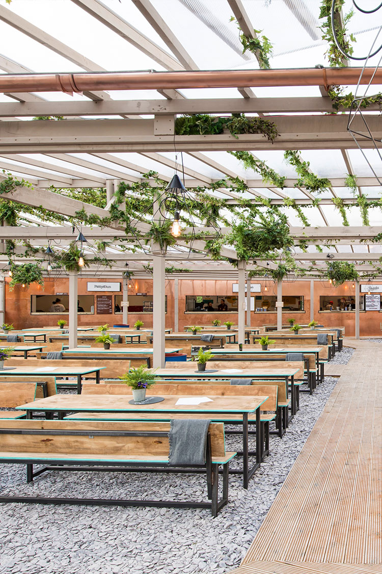 PERGOLA PADDINGTON SUMMER 2017