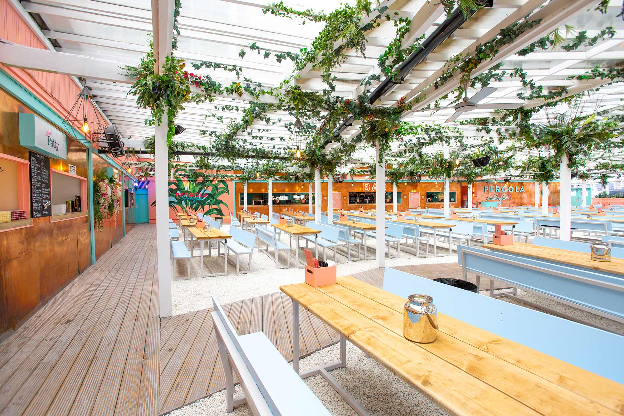 PERGOLA PADDINGTON SUMMER 2019