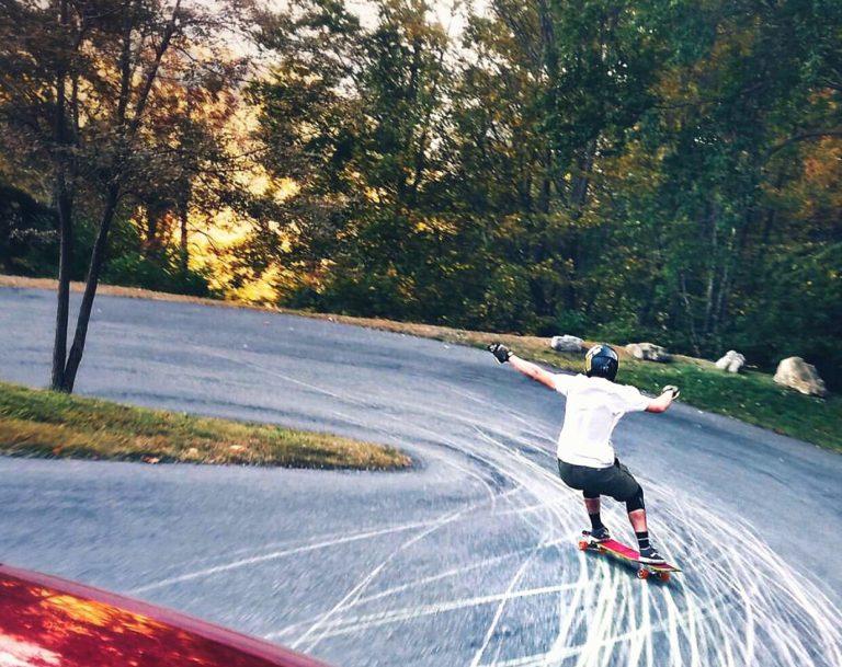 Photo of Brandon laying down thane in North Carolina:  Nick Pappas