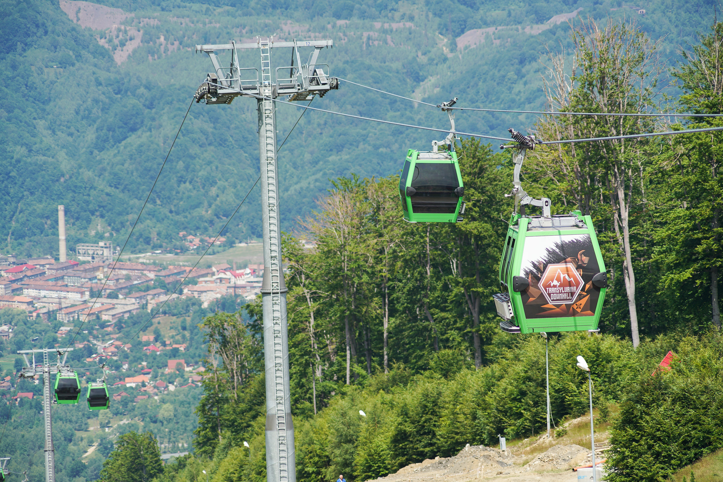 Gondola rides proved to be major key for ease and efficiency. Plus watching the course on the ride up is pretty badass!