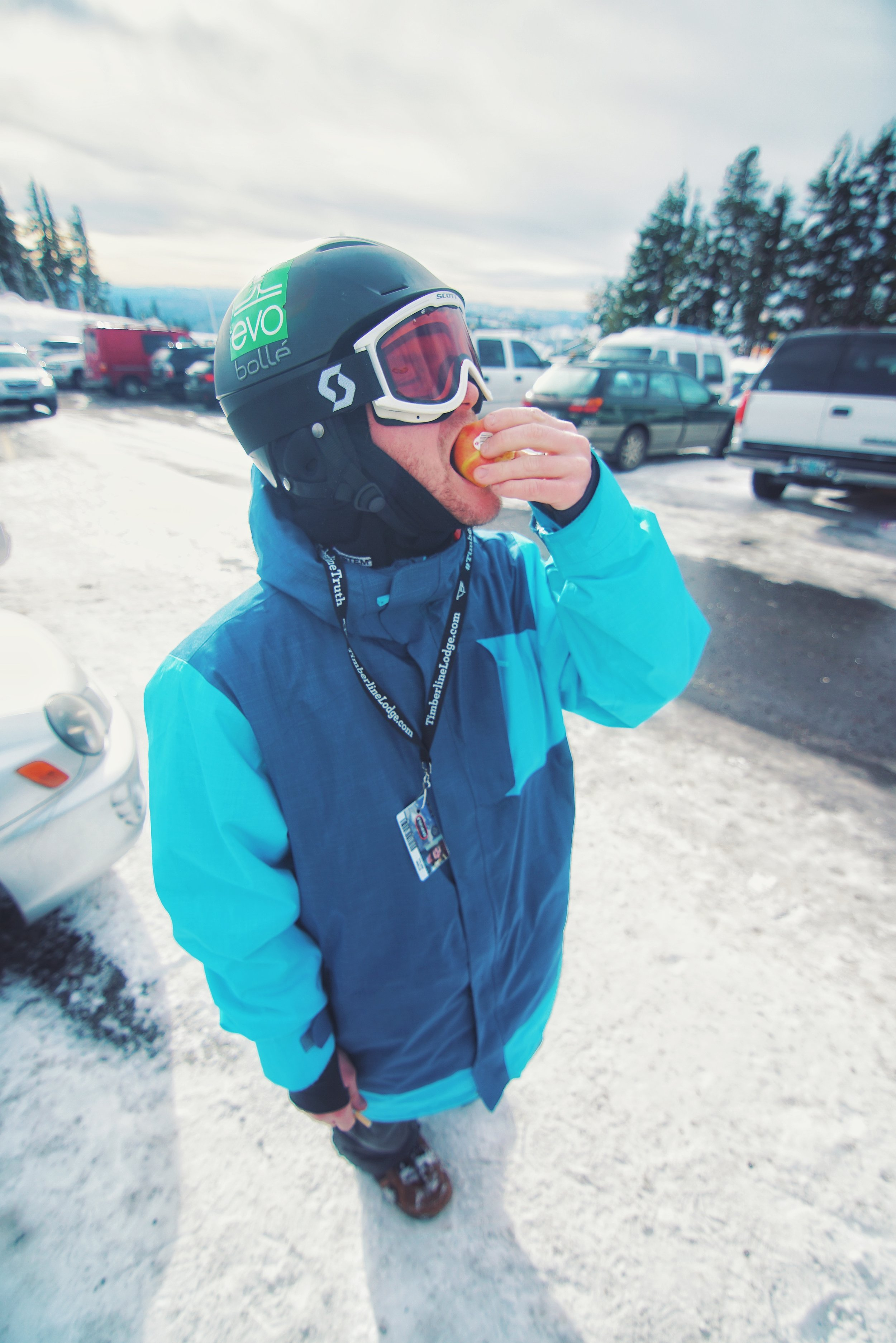 Tyler Weld - Fueling up for the gnar.