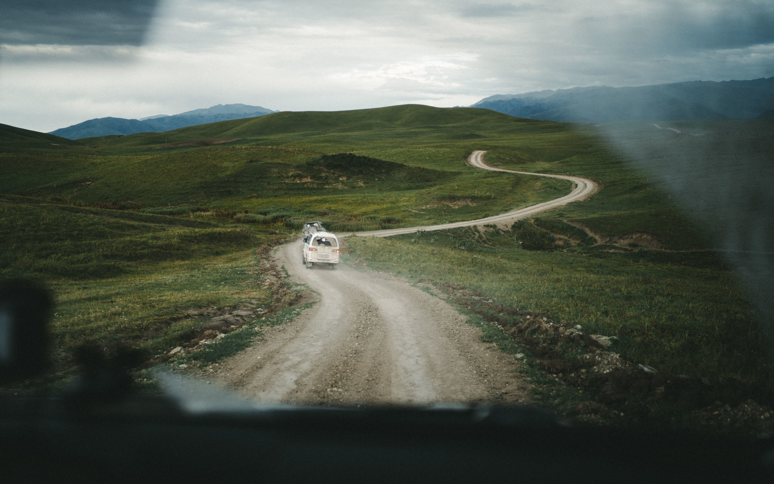 Countryside drives, Kazakhstan.