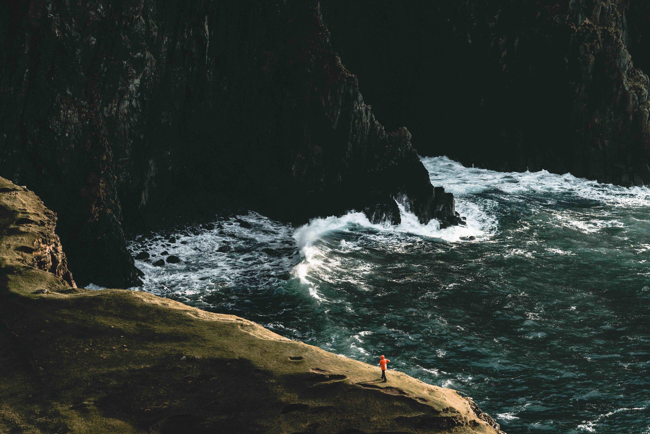 A slightly different angle of Neist Point. Photo Kai Grossmann
