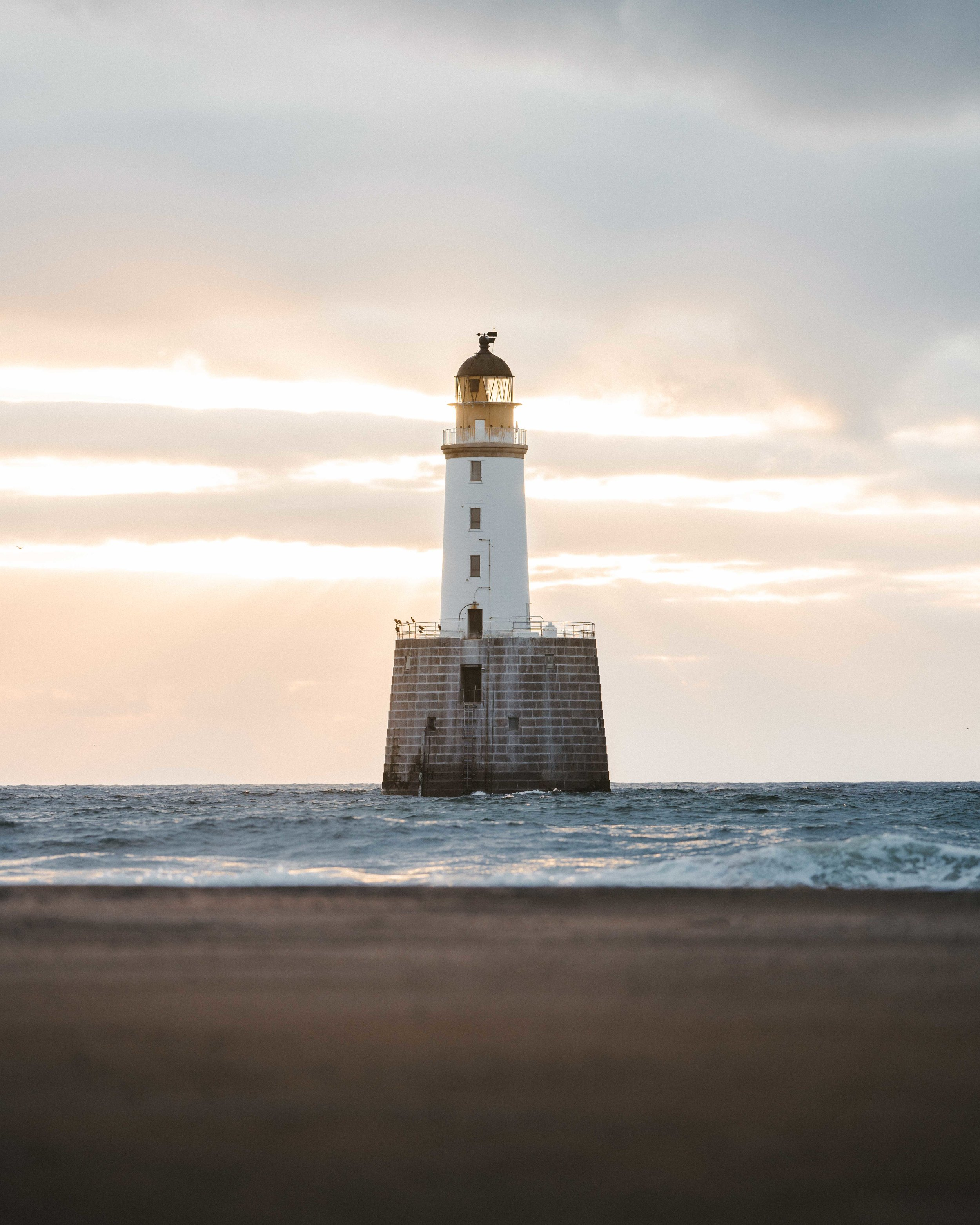 Rattray Head, Scotland. Sony A7Riii @ F1.8 - 1/800 second - 50 ISO.