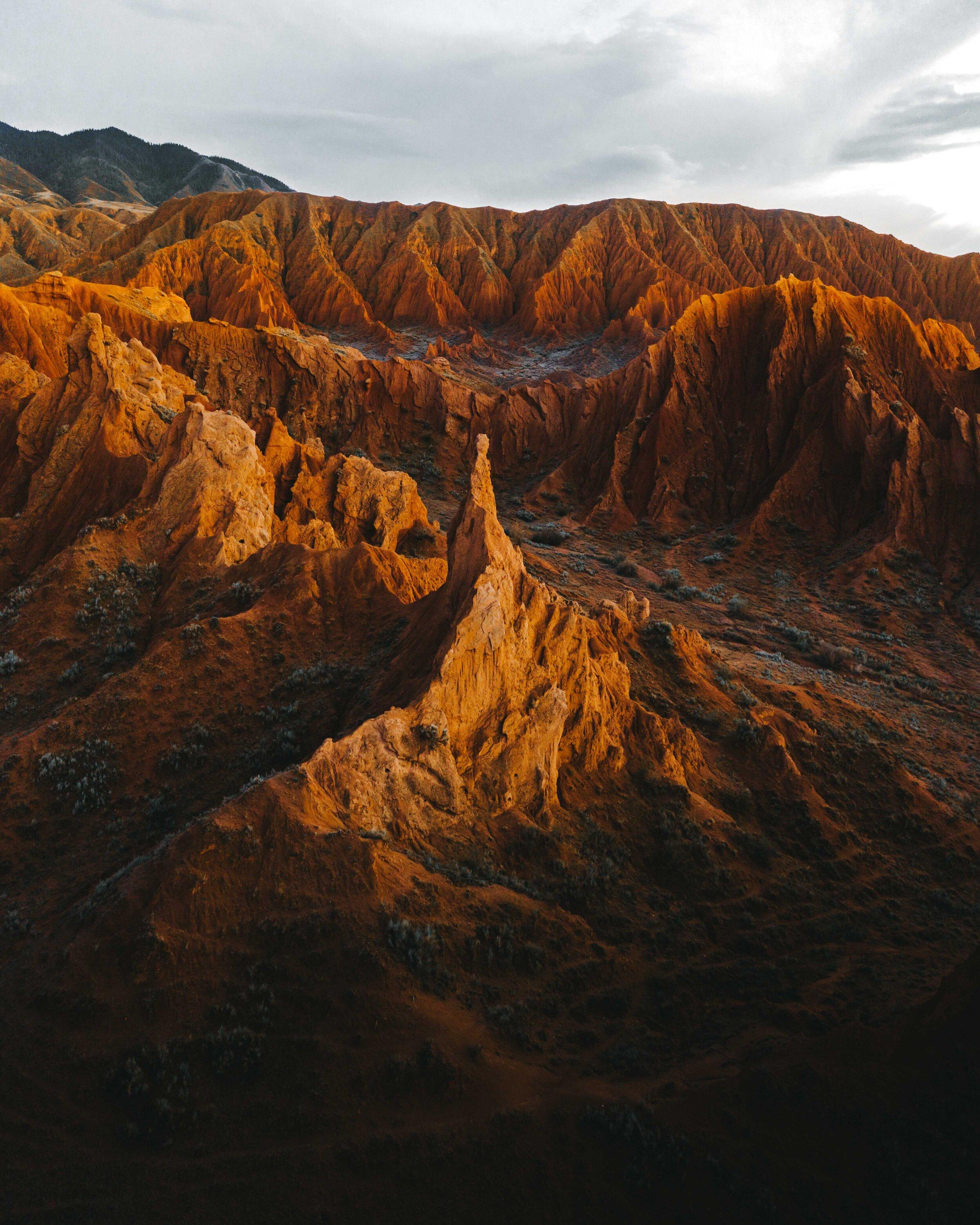 Mars Canyon from the sky. Shot on MavicPro 2