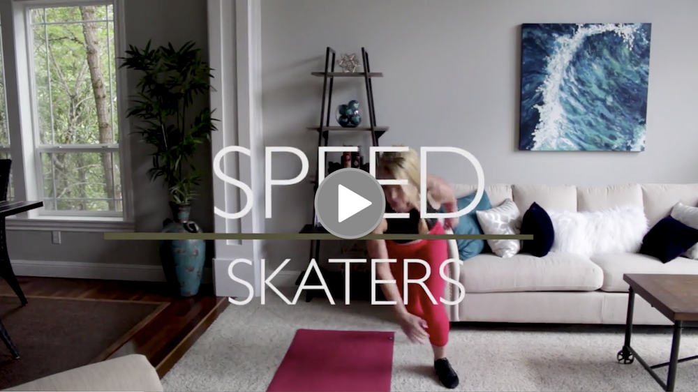 2. Speed Skaters: 20x total (10 on each side) -