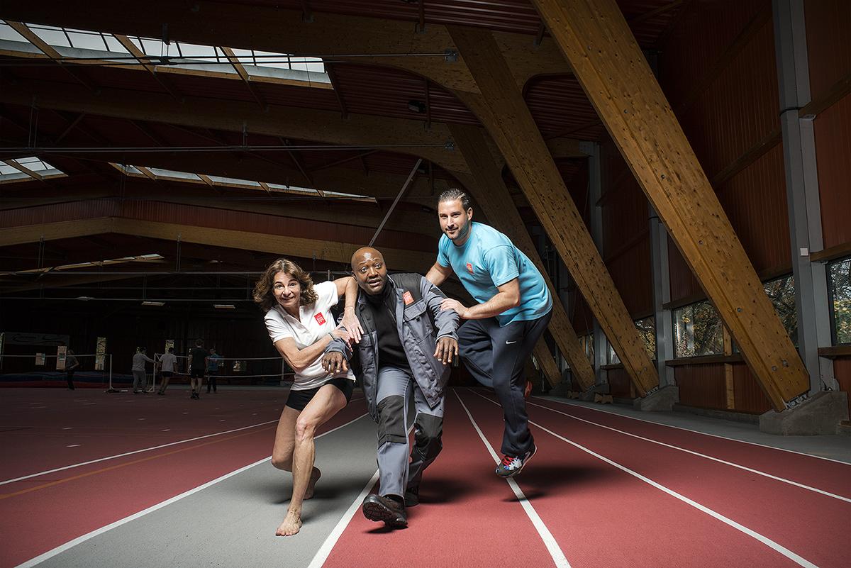 Mairie de Lille, 2016. 20 services de la mairie de Lille mis en scène. Sports et jeunesse