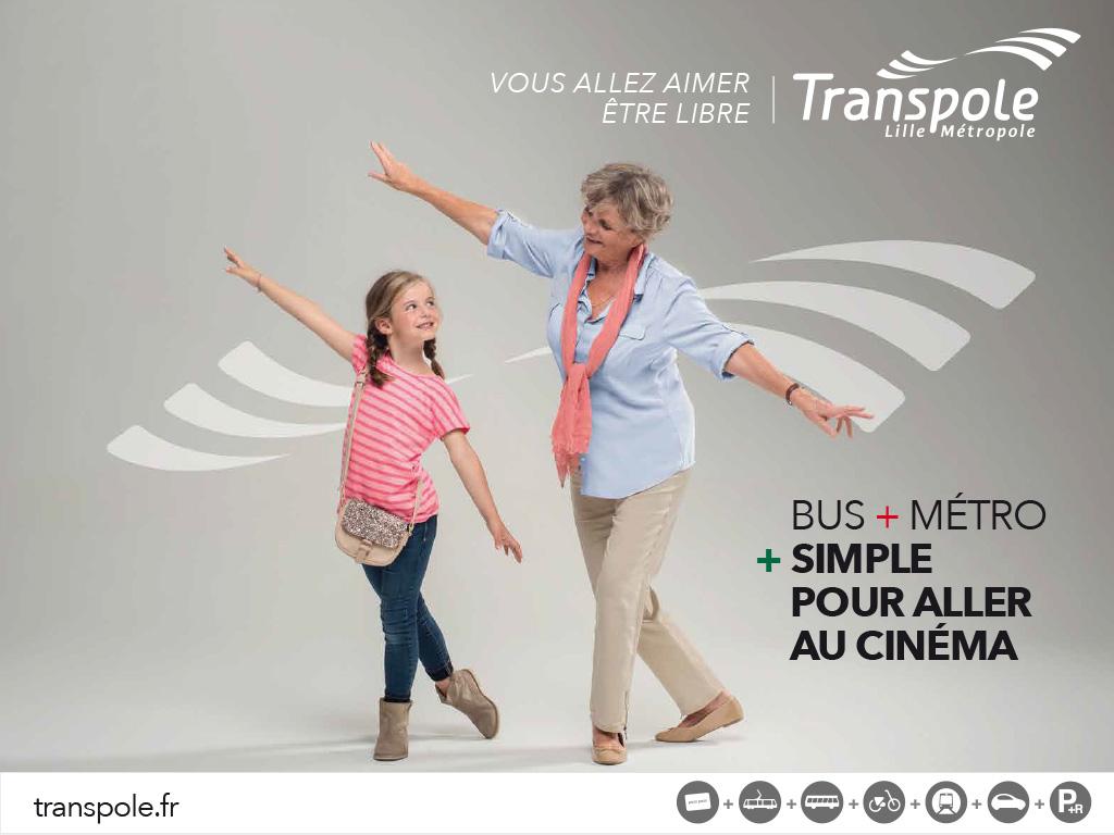 Transpole, 2014/16 Campagnes affichage