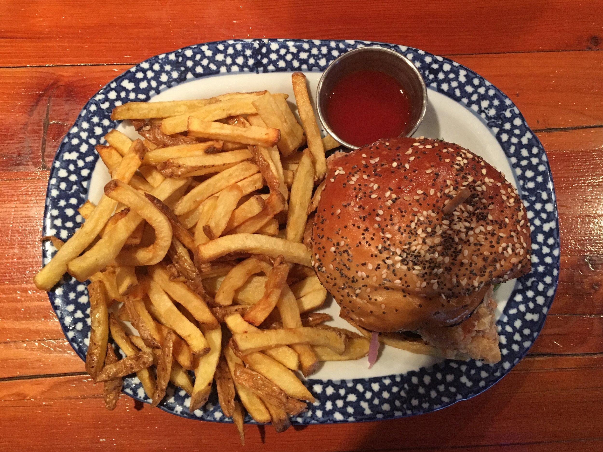Jian's pick: Chicken Tender Sandwich