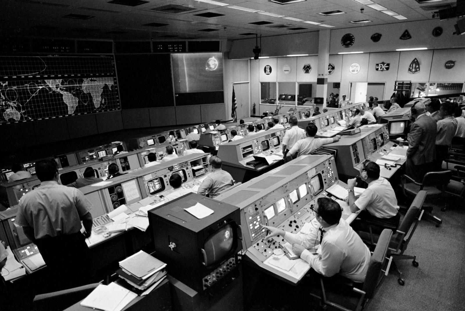 Apollo 10 Moon Mission Control at NASA