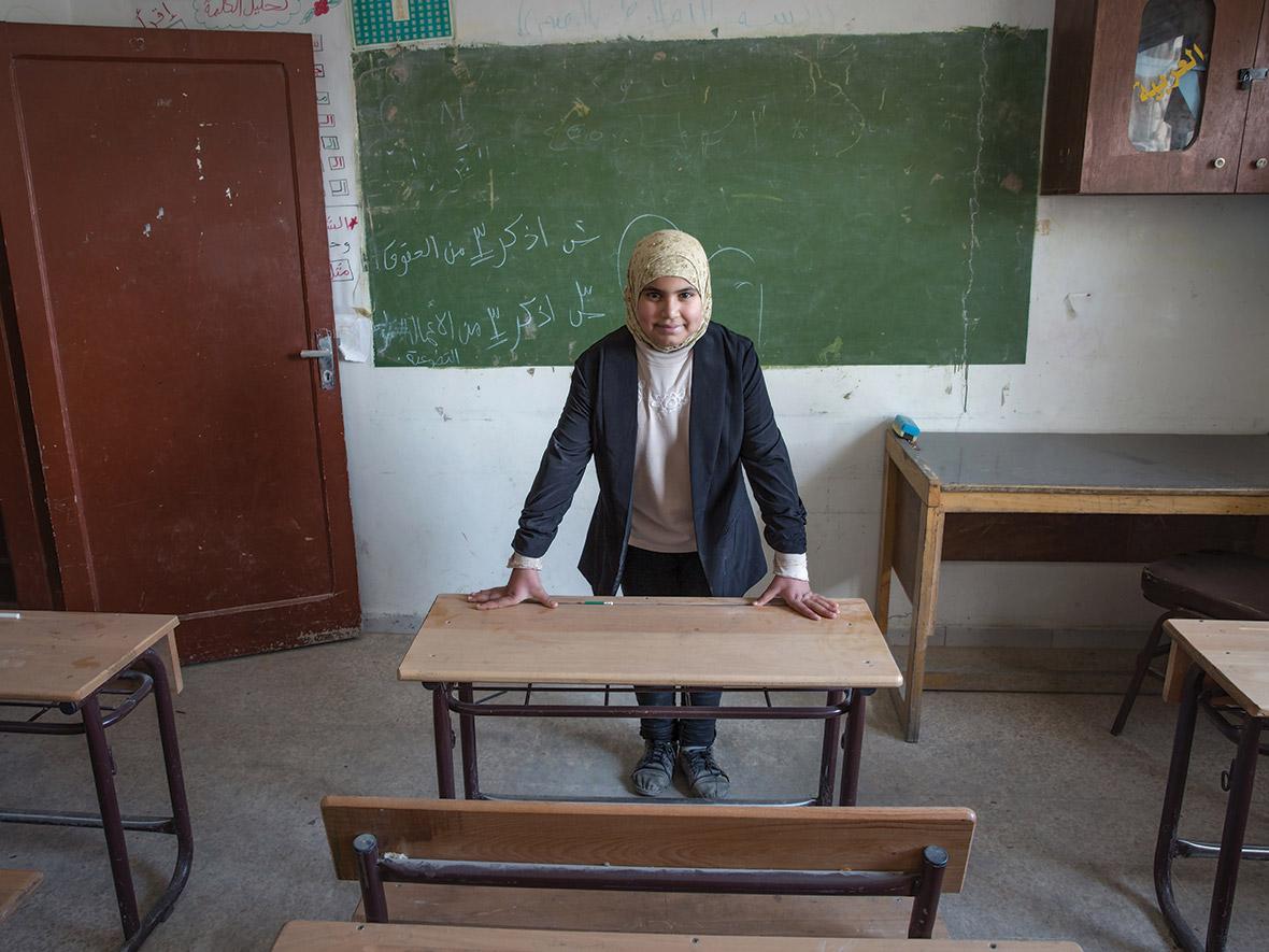 Fatima, aged 12. Vision: future teacher.