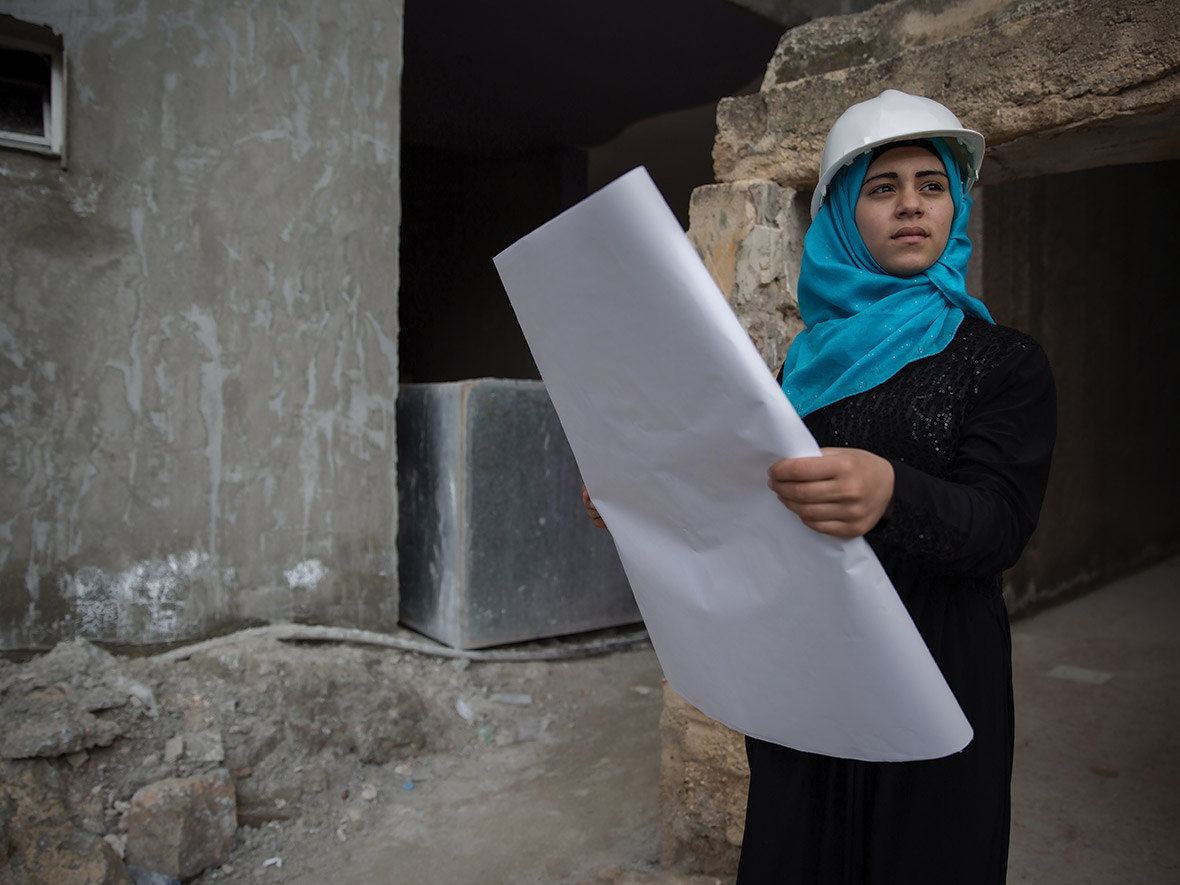 Fatima, aged 16. Vision: future architect.