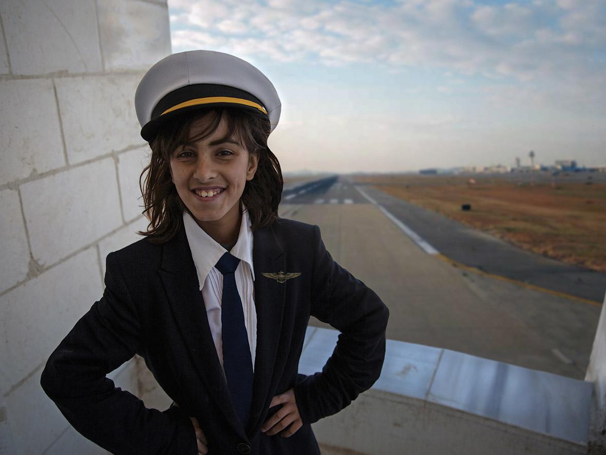 Amani, aged 10. Vision: future pilot.