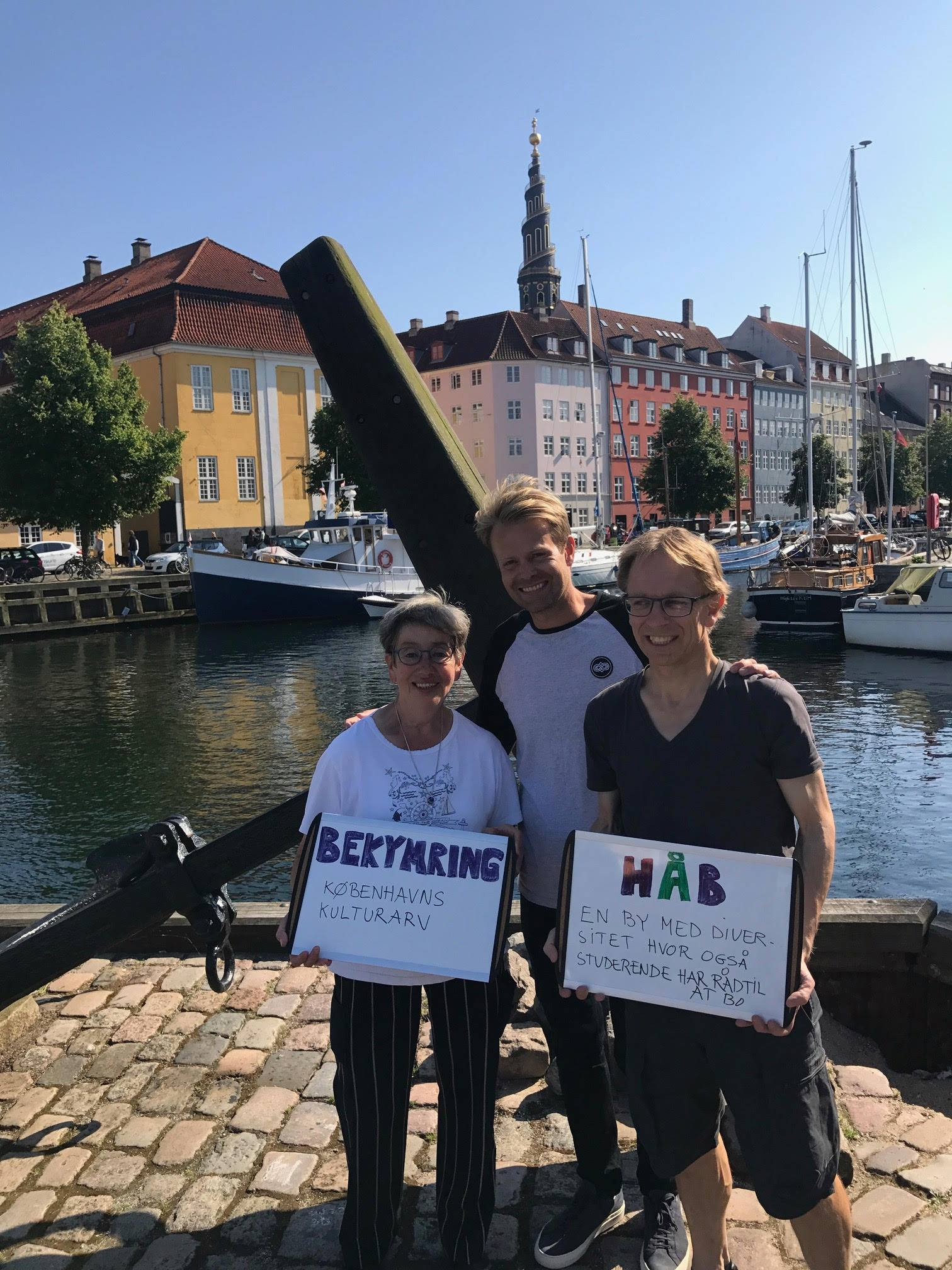 Worry: Protecting Copenhagen's cultural heritage  Hope: A city with diversity where student also can afford to live