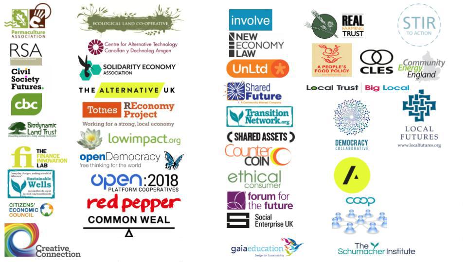 The partner list at CtrlShift2018
