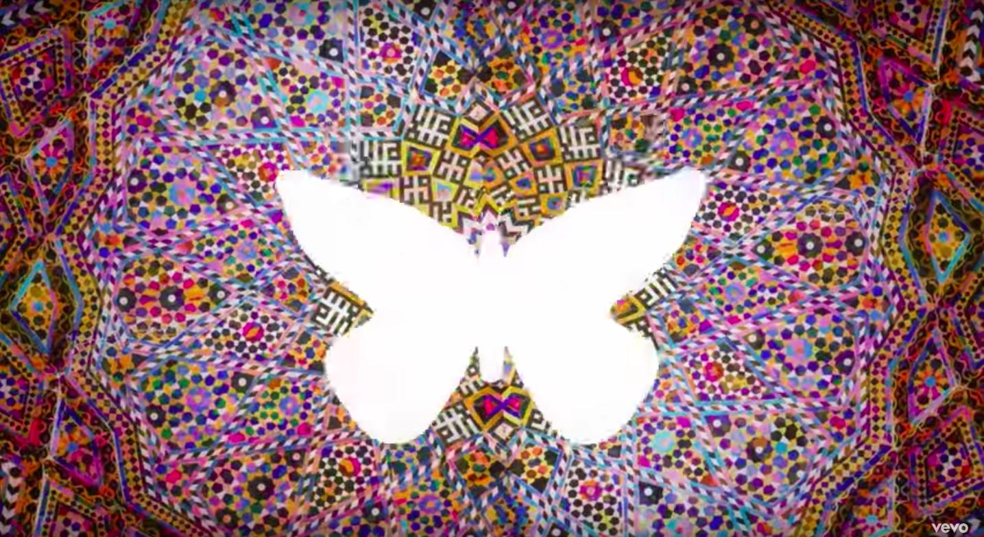 Screenshot from the ' Myela ' music video. Watch it below.