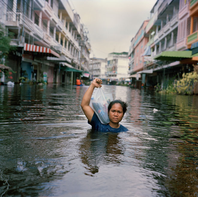 Gideon Mendel's Submerged Portraits