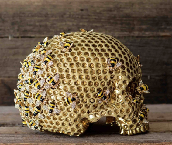 Beehive skull by Jack of the Dust