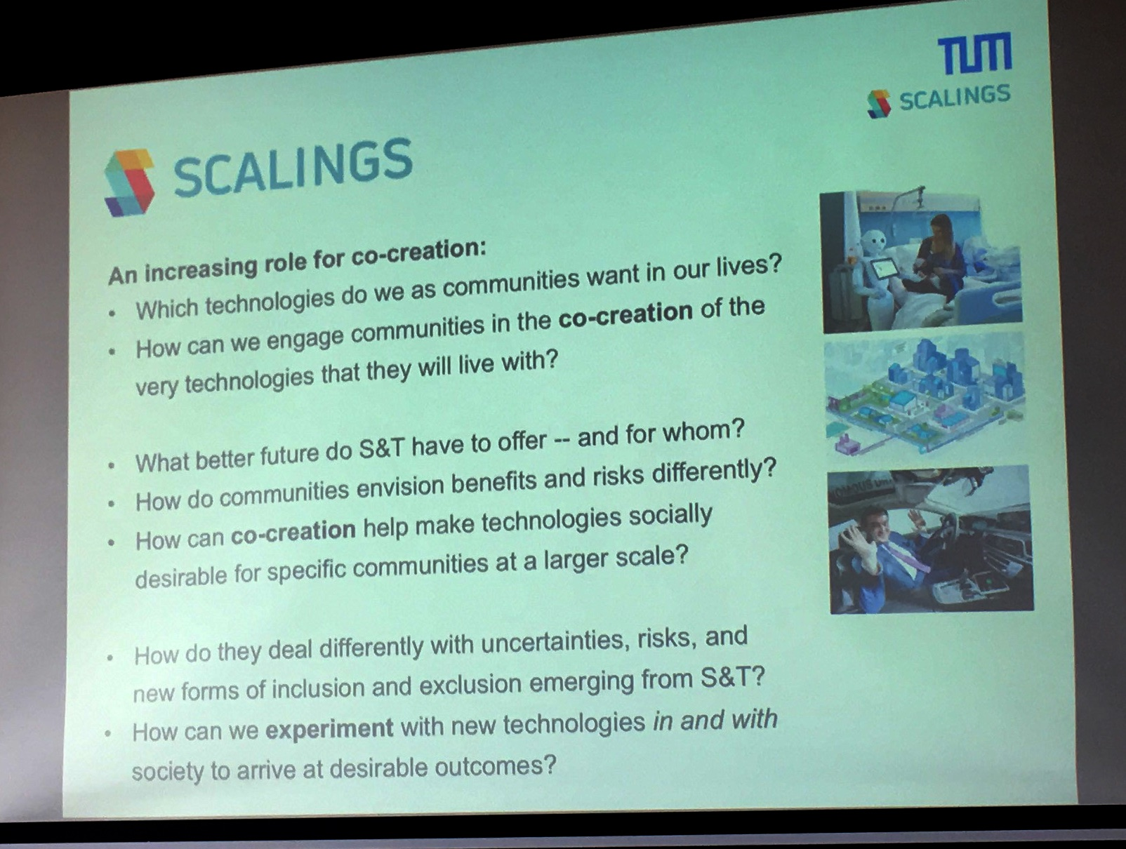 Good questions from the  Scalings  project