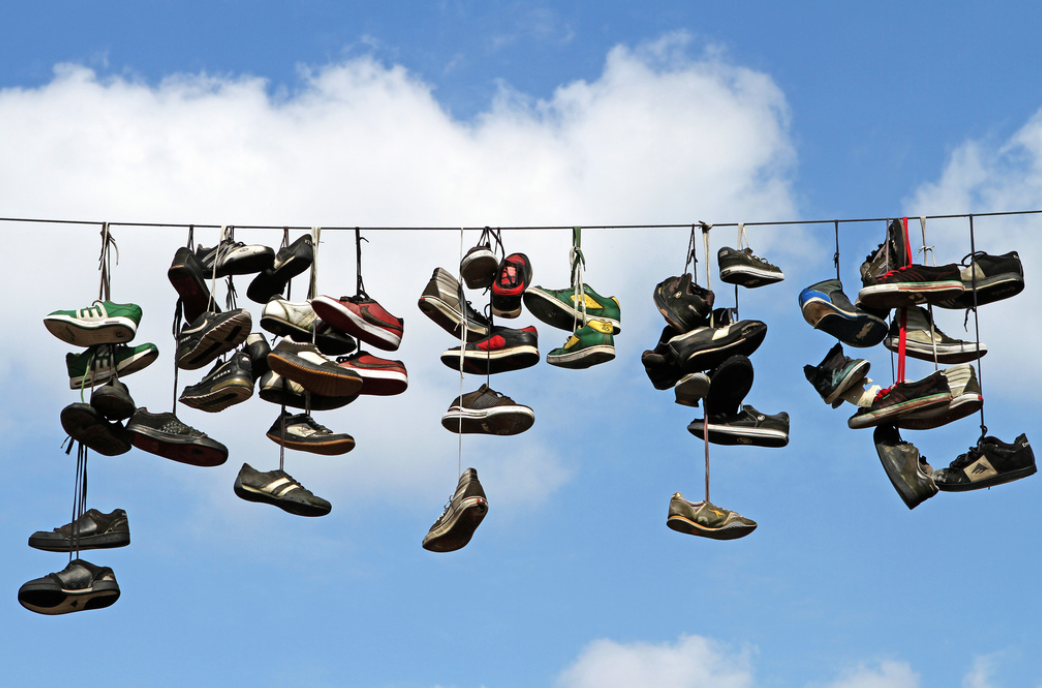 How Many Shoes Fit Into The Sky?  by Joao Bambu