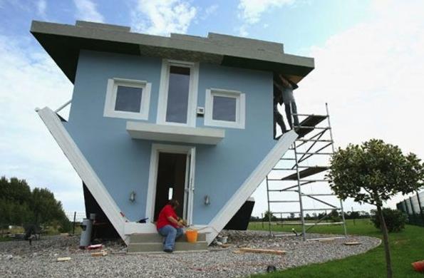 Betty MacDonald, Mrs. Piggle-Wiggle and the upside down house in Trassenheide
