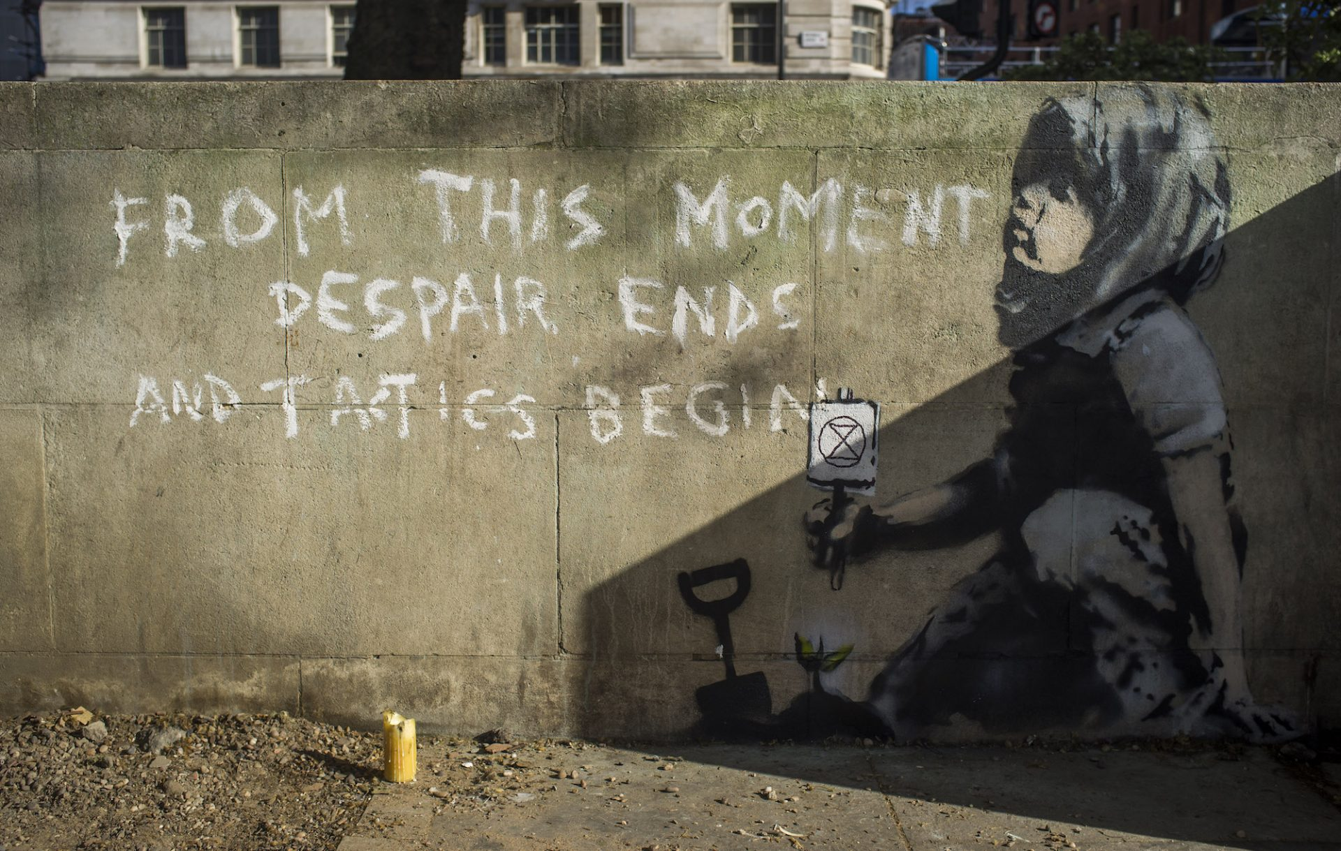 New Banksy mural,  more here