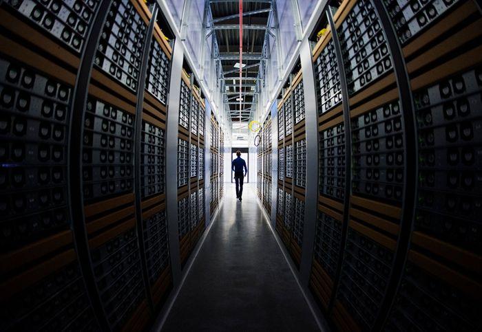 A Facebook data centre in Luleå, Sweden