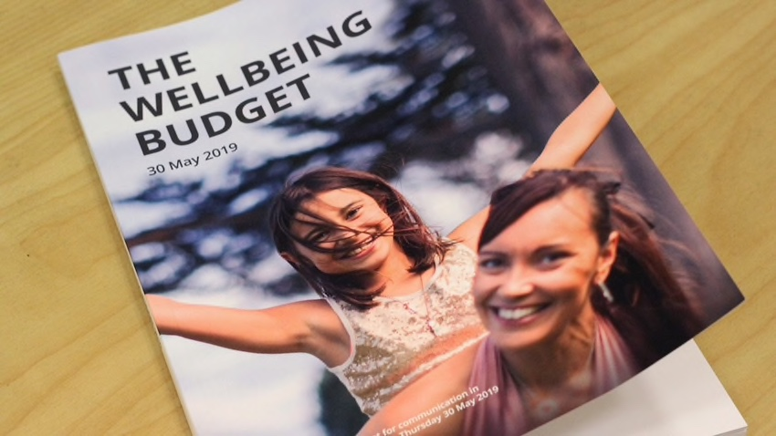 New Zealand's Wellbeing Budget (click on image to  download PDF )