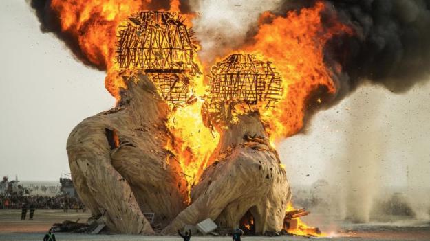 Images below from Burning Man Festival, Nevada Desert