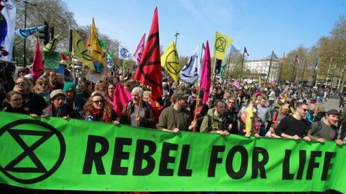 The Extinction Rebellion movement calls for a meaningful response to our ecological crisis