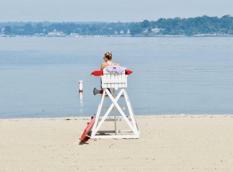 Island Beach in Greenwich, Connecticut