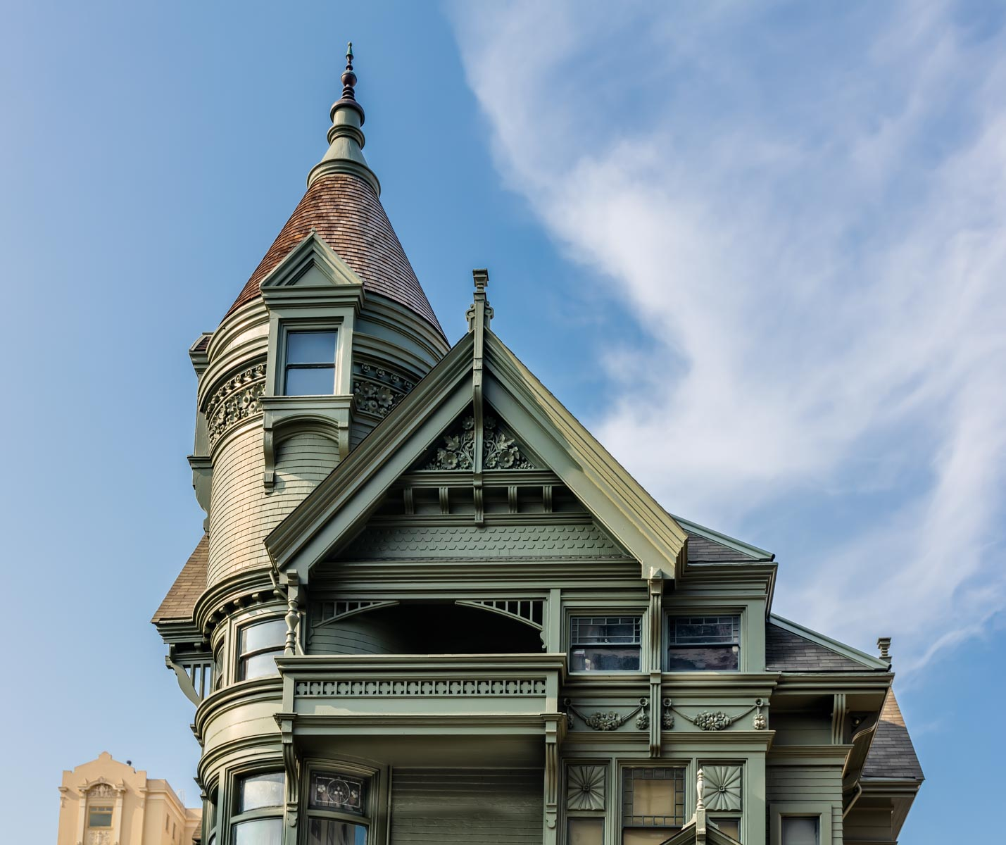 Haas–Lilienthal House Museum in Pacific Heights