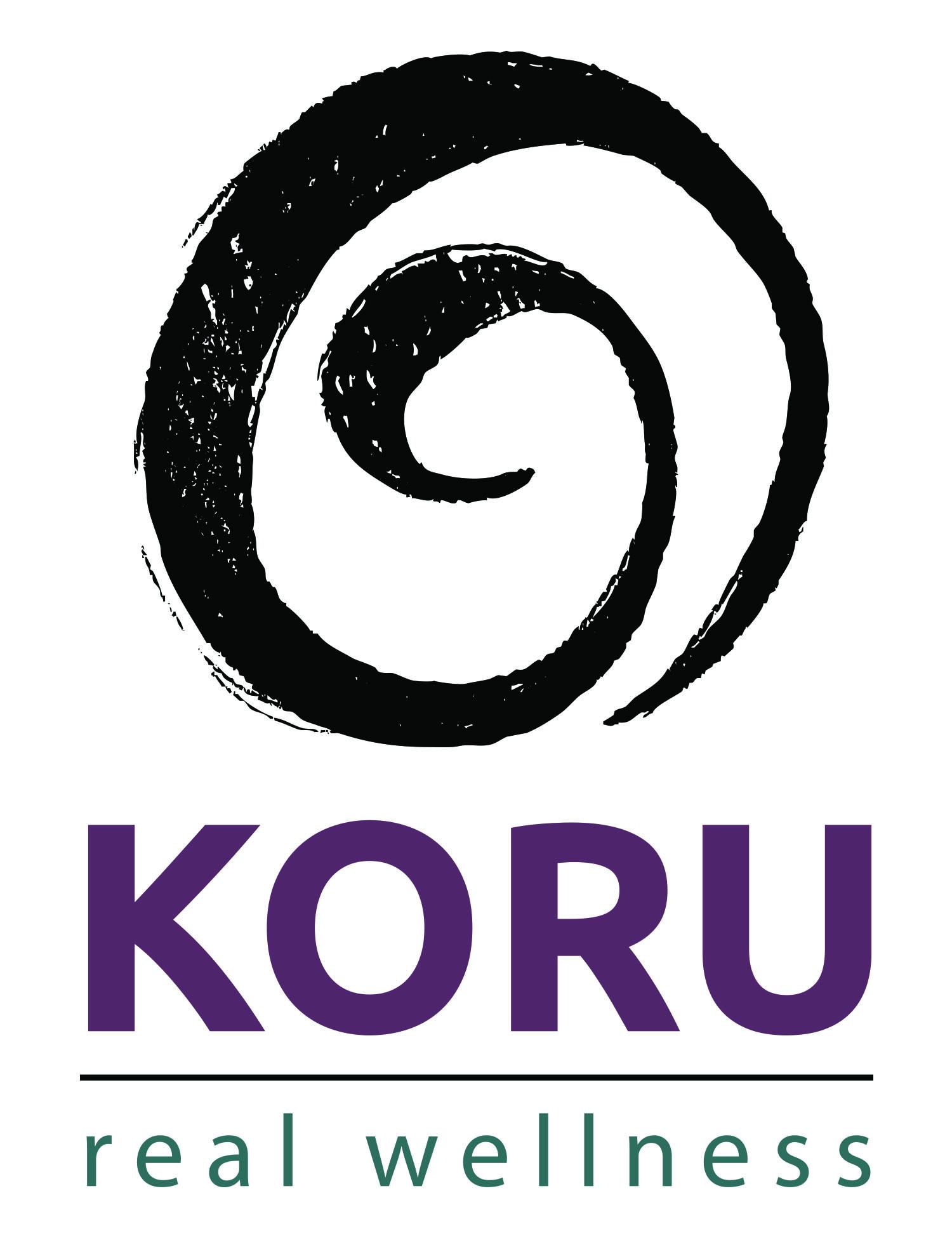 KORU real wellness logo