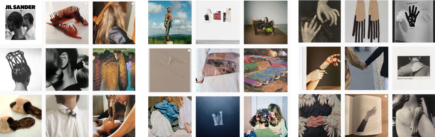 concept & curation of the instagram account of @diedame with weekly changing topics.