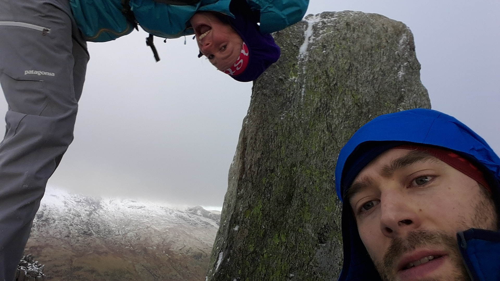 Top of Tryfan after a brilliant week away